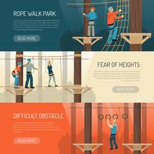 Rope Walk Activity Horizontal ...