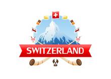 Logo Of Zermatt Matterhorn Sur...