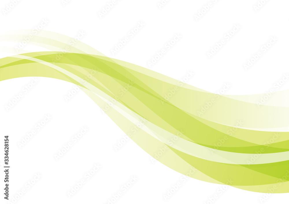 曲線 抽象 背景 緑