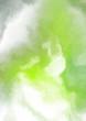 Leinwandbild Motiv Abstract colorful watercolor on white background. Digital art painting.