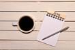 コーヒーとカレンダー(六月)