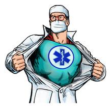 Superhero Doctor With Emergenc...