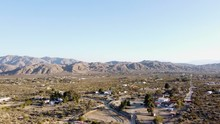 Morongo Valley California Aeri...