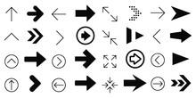 Arrows Set Icons Design Style ...