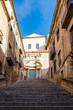 Girona city historical center in Catalonia, Spain.
