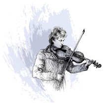 Violinist, Classical Music Con...