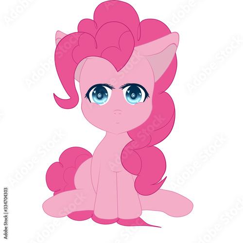 Pinkie Pie Chibi Wallpaper Mural
