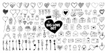 Big Set Doodle Vector Elements...
