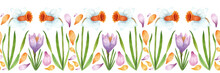 Hand-drawn Watercolor Floral P...
