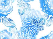 Vector Rose Background.
