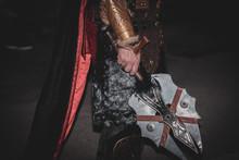 Espada De Guerrero Cristiano
