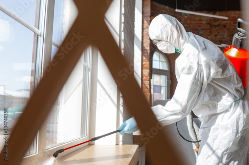 Vászonkép Coronavirus Pandemic