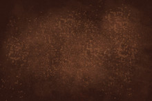 An Abstract Vignette Brown Paint Sponged Background Image.