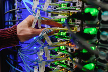 Man Data Center Technician Per...
