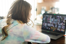 Virtual Classroom At Home On L...