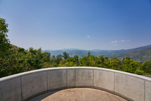 Viewpoint Of Doi Tung Chiang Rai Thailand