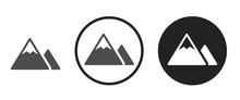 Mountain Icon . Web Icon Set ....