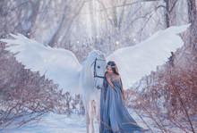 Young Beautiful Woman Goddess ...