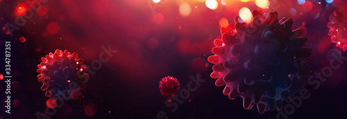 Photo Covid-19 Coronavirus, Virus That Causes Acute Respiratory Infections, Sars-CoV-2