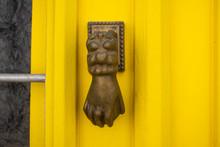 Door Knocker In The Form Of A ...