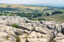 View Of The Limestone Pavement...