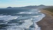 Beautiful and peaceful beach in the southern Oregon coast with amazing views and natural landscapes