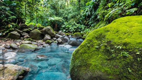 Fotografering ruisseau au bleu éclatant