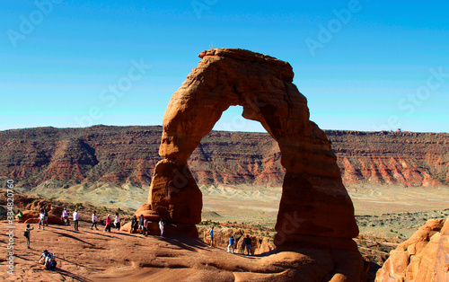 arch in arches national park utah Canvas Print