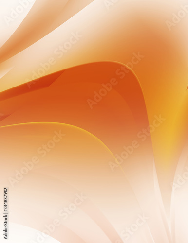 Fototapeta Dynamic trendy simple fluid color gradient abstract cool background with overlapping line effects.  Illustration for wallpaper, banner, background, card, book, pamphlet,website. 2D illustration.. obraz na płótnie