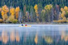 Early Morning Kayaks On A Lake...