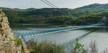 Hanging Bridge Over Arda River...