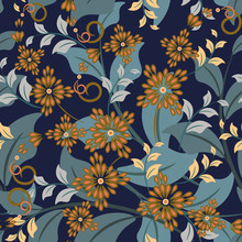 Vector Seamless Pattern With A...