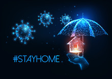 Futuristic Stay At Home During...