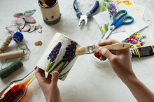 Decorating Tin Cans With Decou...