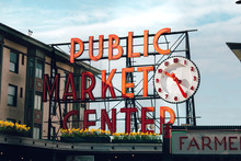 Seattle Landmark Fish Market