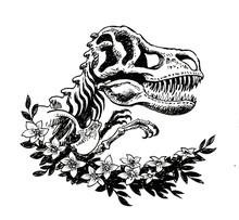 Tyrannosaurus Rex Skeleton And...