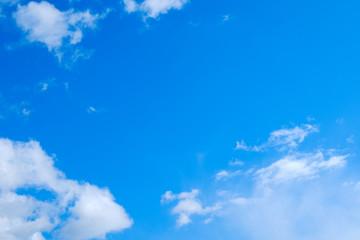 【写真素材】 青空 空 雲 春の空 背景 背景素材 3月 コピースペース