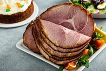 Easter Ham Brown Sugar Glazed ...