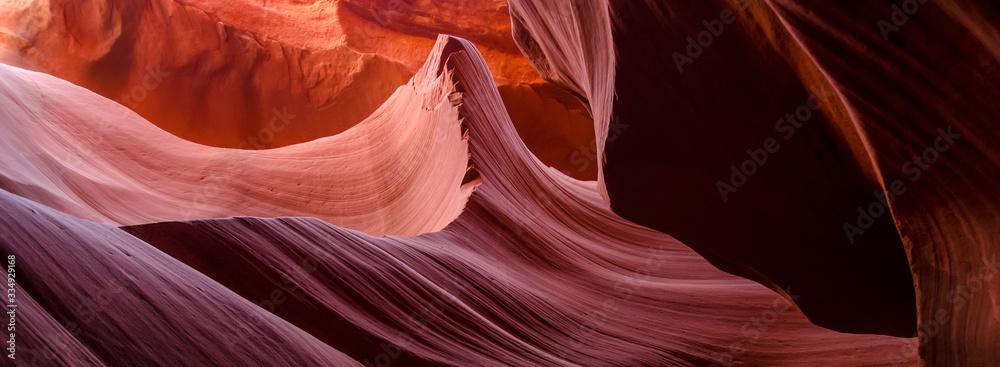 Fototapeta Beautiful Antelope canyon,Navajo land east of Page, USA