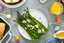 Roasted Asparagus With Parmesa...
