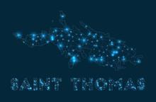 Saint Thomas Network Map. Abst...