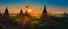 Bagan Myanmar Hot Air Balloons...