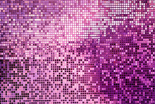 Pink Square Mosaic Tiles For Background
