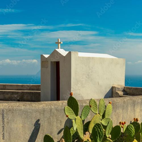 cappella di San Giuseppe - Alicudi Wallpaper Mural