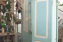 Old Retro Door Design With Som...