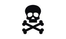 Death Head Vector Design Blac...