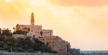 Old Town Port Of Jaffa In Tel ...