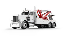 Wrecker Tow Truck 3D Rendering...
