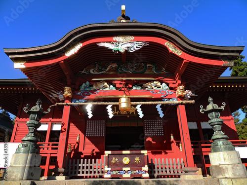 Fotografie, Obraz Musashi Mitake Shrine in Ome, Tokyo, Japan