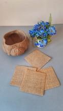 Kwiaty Serwetki Lniane Niebieski Naczynie Rzeczy